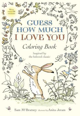 Guess How Much I Love You Coloring Book Cover Image