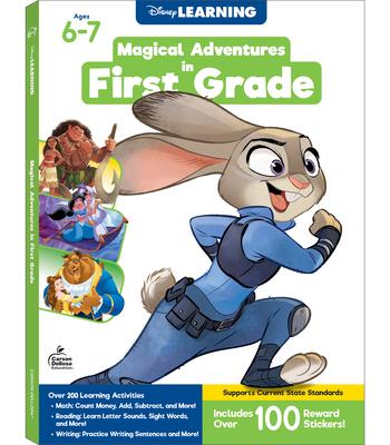 Disney/Pixar Magical Adventures in First Grade Cover Image