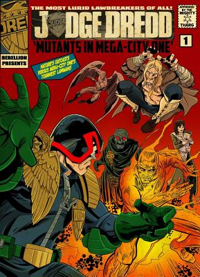 Mutants in Mega-City One Cover