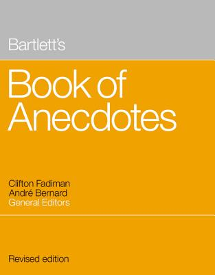 Bartlett's Book of Anecdotes Cover