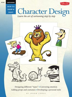 Character Design Cartooning Cover