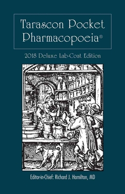 Tarascon Pocket Pharmacopoeia 2018 Deluxe Lab-Coat Edition Cover Image