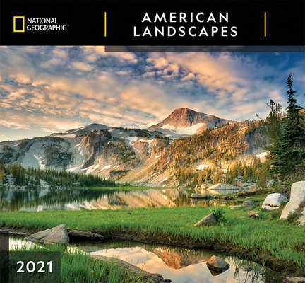 Cal 2021- National Geographic American Landscapes Wall Cover Image