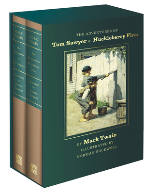 The Adventures of Tom Sawyer and Huckleberry Finn: Norman Rockwell Collector's Edition Cover Image