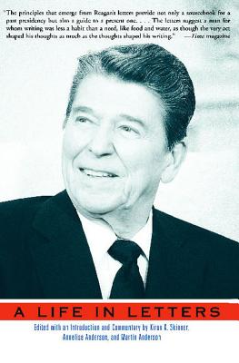 Reagan: A Life in Letters cover image