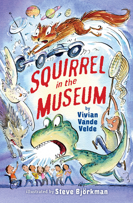 Cover for Squirrel in the Museum (Twitch the Squirrel #3)