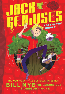 Lost in the Jungle: Jack and the Geniuses Book #3 Cover Image