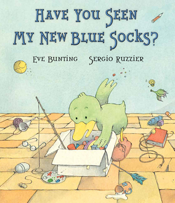 Have You Seen My New Blue Socks? Cover