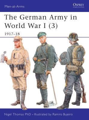 The German Army in World War I (3) Cover