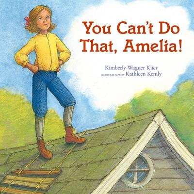 You Can't Do That, Amelia! Cover