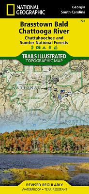 Brasstown Bald, Chattooga River [Chattahoochee and Sumter National Forests] (National Geographic Trails Illustrated Map #778) Cover Image