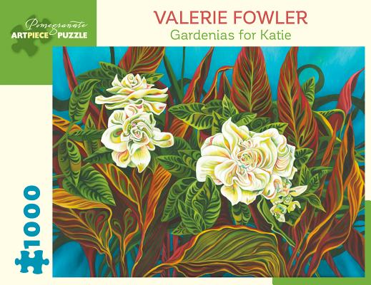 Valerie Fowler Gardenias for Katie 1000 Piece Jigsaw Puzzle Cover Image