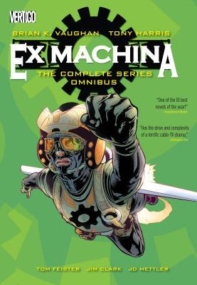 Ex Machina: The Complete Series Omnibus cover image
