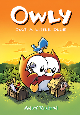 Just a Little Blue (Owly #2) Cover Image
