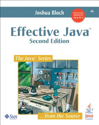 Cover for Effective Java