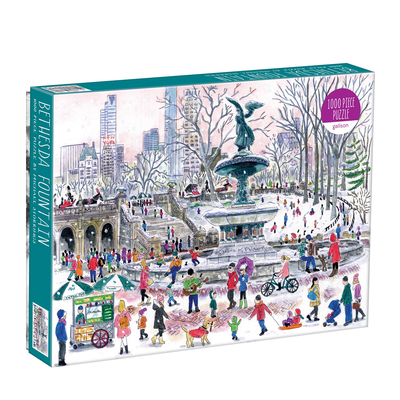 Michael Storrings Bethesda Fountain 1000 Piece Puzzle Cover Image