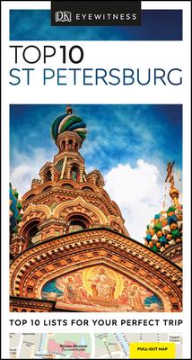 DK Eyewitness Top 10 St Petersburg (Pocket Travel Guide) Cover Image