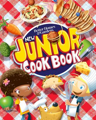 Better Homes and Gardens New Junior Cook Book (Better Homes and Gardens Cooking) Cover Image