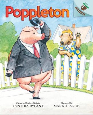 Poppleton: An Acorn Book (Poppleton #1) (Library Edition) Cover Image