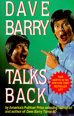 Dave Barry Talks Back Cover