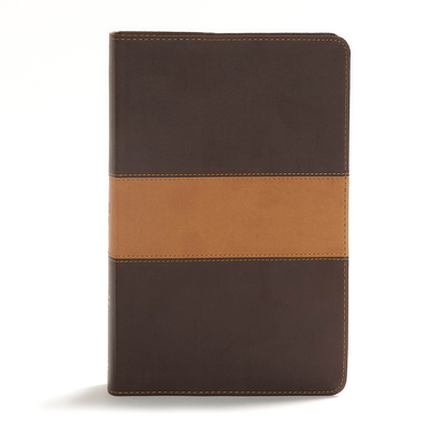 Cover for CSB Disciple's Study Bible, Brown/Tan LeatherTouch