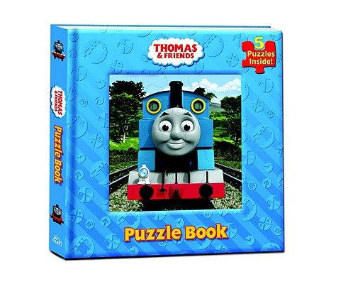 Thomas & Friends Puzzle Book Cover