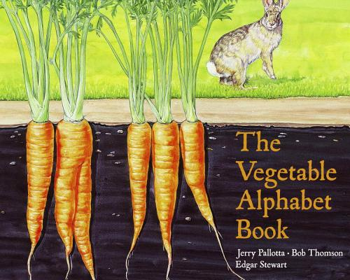 The Vegetable Alphabet Book (Jerry Pallotta's Alphabet Books) Cover Image