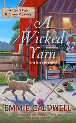 A Wicked Yarn (A Craft Fair Knitters Mystery #1) Cover Image