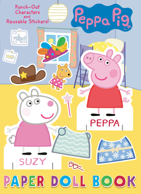 Peppa Pig Paper Doll Book (Peppa Pig) Cover Image
