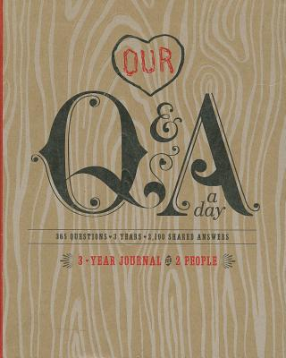 Our Q&A a Day: 3-Year Journal for 2 People Cover Image