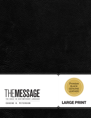 Message Large Print Bible-MS (First Book Challenge) Cover Image