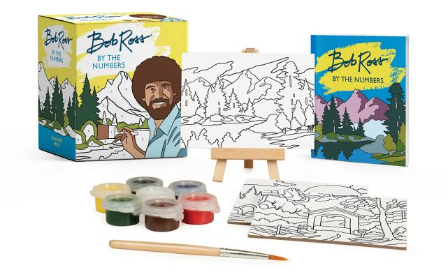 Bob Ross by the Numbers (RP Minis) Cover Image