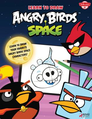 Learn to Draw Angry Birds Space Cover