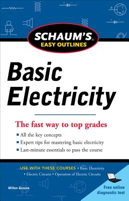 Schaum's Easy Outlines Basic Electricity Cover Image