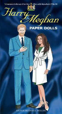Harry and Meghan Paper Dolls (Dover Celebrity Paper Dolls) Cover Image
