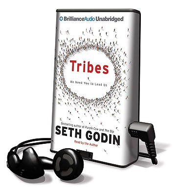 Tribes: We Need You to Lead Us [With Earbuds] (Playaway Adult Nonfiction) Cover Image