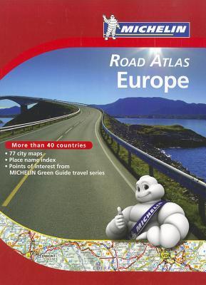 Michelin Road Atlas Europe Cover