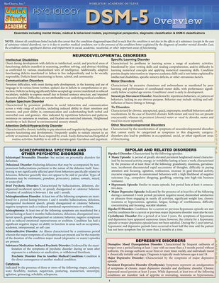 Dsm-5 Overview Cover Image
