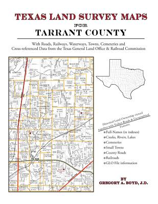 Texas Land Survey Maps for Tarrant County Cover Image