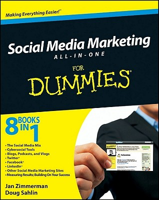 Social Media Marketing All-In-One for Dummies Cover