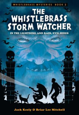 Cover for The Whistlebrass Storm Watcher (Whistlebrass Mysteries #2)