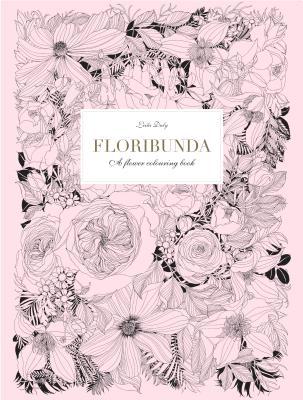 Floribunda: A Flower Coloring Book Cover Image