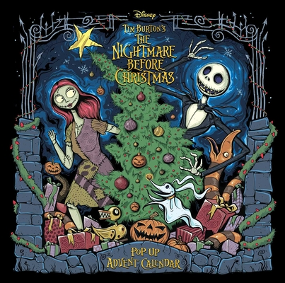 The Nightmare Before Christmas: Advent Calendar and Pop-Up Book Cover Image