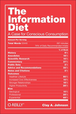 The Information Diet Cover