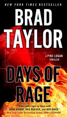 Days of Rage (A Pike Logan Thriller #6) Cover Image