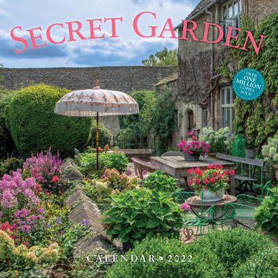 Secret Garden Wall Calendar 2022 Cover Image