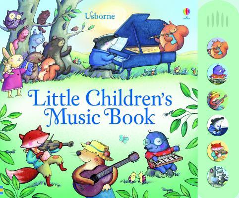 Little Children's Music Book Cover Image