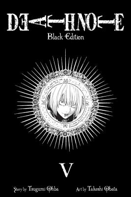 Death Note Black Edition, Volume 5 Cover
