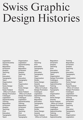 Swiss Graphic Design Histories Cover Image