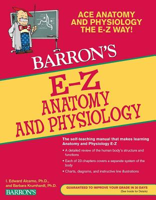 E-Z Anatomy and Physiology (Barron's Easy Way) Cover Image